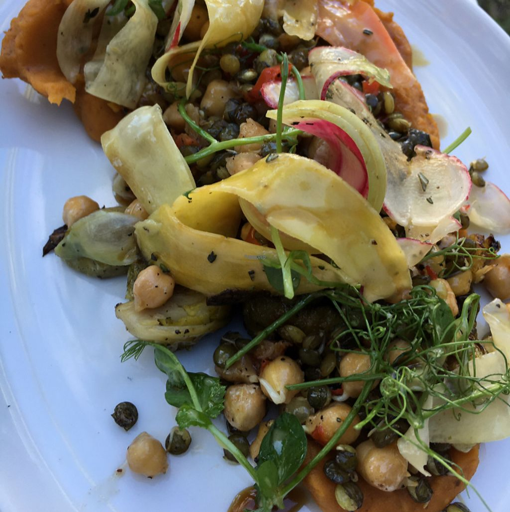 """Photo of Dirt Eat Clean  by <a href=""""/members/profile/daroff"""">daroff</a> <br/>Autumn Plate with chickpeas and lentils <br/> December 27, 2016  - <a href='/contact/abuse/image/67410/205368'>Report</a>"""