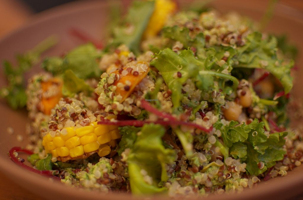 "Photo of Full Of Life Organics  by <a href=""/members/profile/chocoholicPhilosophe"">chocoholicPhilosophe</a> <br/>Quinoa salad <br/> December 27, 2015  - <a href='/contact/abuse/image/67415/129923'>Report</a>"