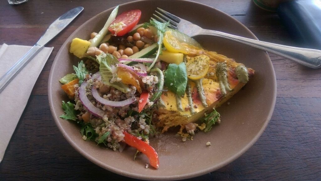"Photo of Full Of Life Organics  by <a href=""/members/profile/Davidgew"">Davidgew</a> <br/>Tofu frittata, Quinoa salad, chickpea salad <br/> February 9, 2016  - <a href='/contact/abuse/image/67415/135644'>Report</a>"