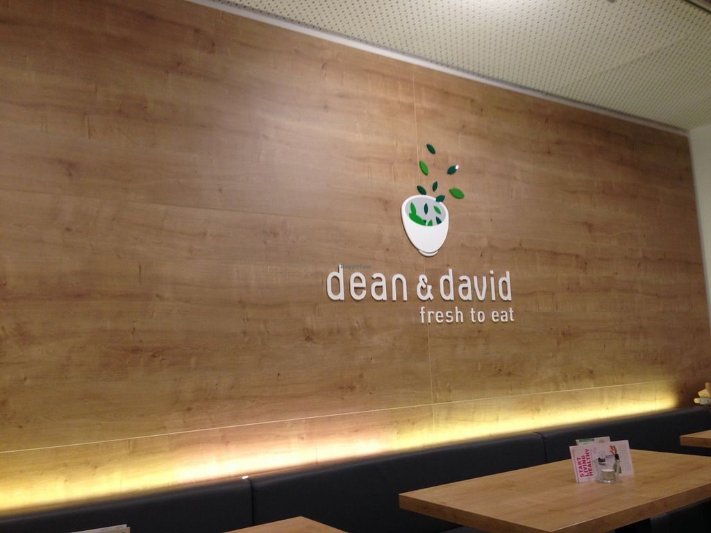 """Photo of Dean & David  by <a href=""""/members/profile/FenVegan"""">FenVegan</a> <br/>fresh interior, just like their food ;p <br/> December 22, 2015  - <a href='/contact/abuse/image/67434/129460'>Report</a>"""