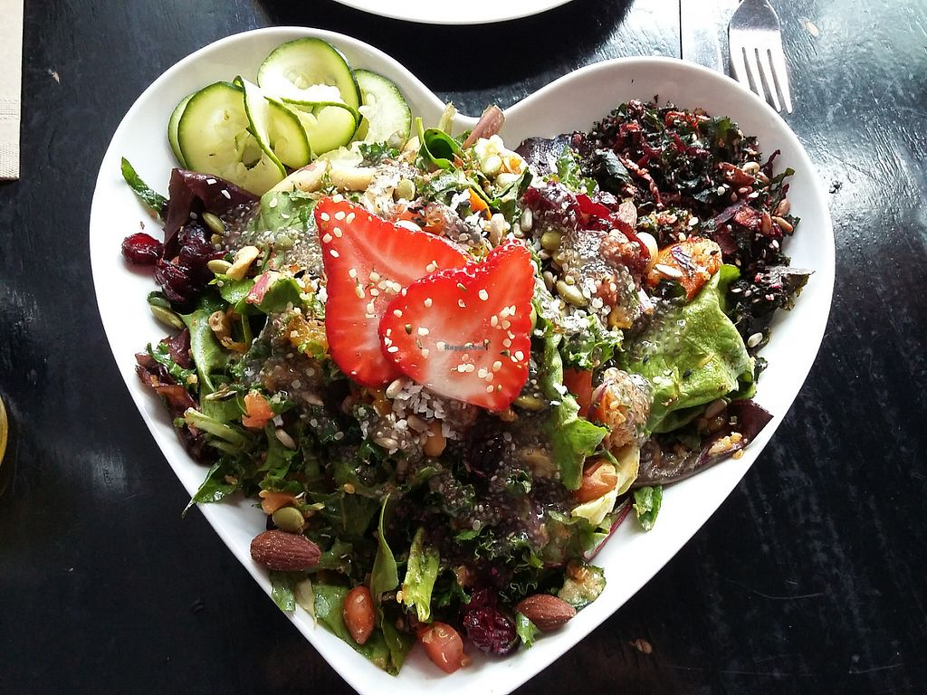 "Photo of Nourish Bistro  by <a href=""/members/profile/Peanuts"">Peanuts</a> <br/>Superfood Salad <br/> May 23, 2017  - <a href='/contact/abuse/image/6744/261615'>Report</a>"