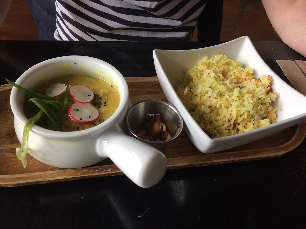 "Photo of Nourish Bistro  by <a href=""/members/profile/JenniferLees"">JenniferLees</a> <br/>Thai curry  <br/> June 24, 2017  - <a href='/contact/abuse/image/6744/272809'>Report</a>"