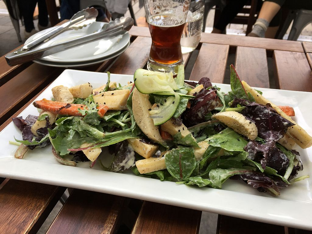 "Photo of Nourish Bistro  by <a href=""/members/profile/dlachica"">dlachica</a> <br/>root salad- don't recommend  <br/> September 3, 2017  - <a href='/contact/abuse/image/6744/300560'>Report</a>"