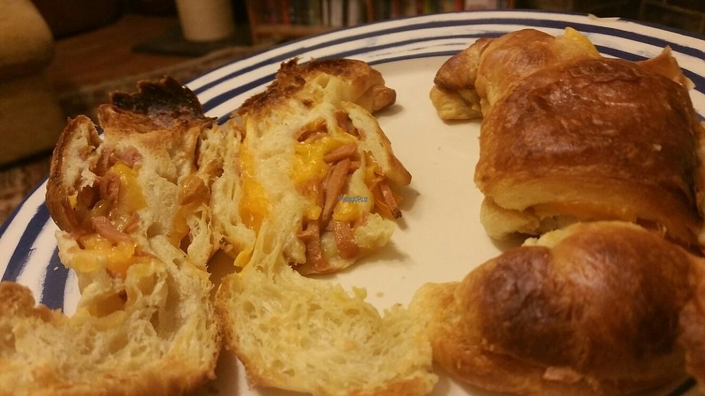 """Photo of Vx  by <a href=""""/members/profile/KatieBatty"""">KatieBatty</a> <br/>""""ham"""" and cheese croissant  <br/> March 17, 2017  - <a href='/contact/abuse/image/67456/237262'>Report</a>"""