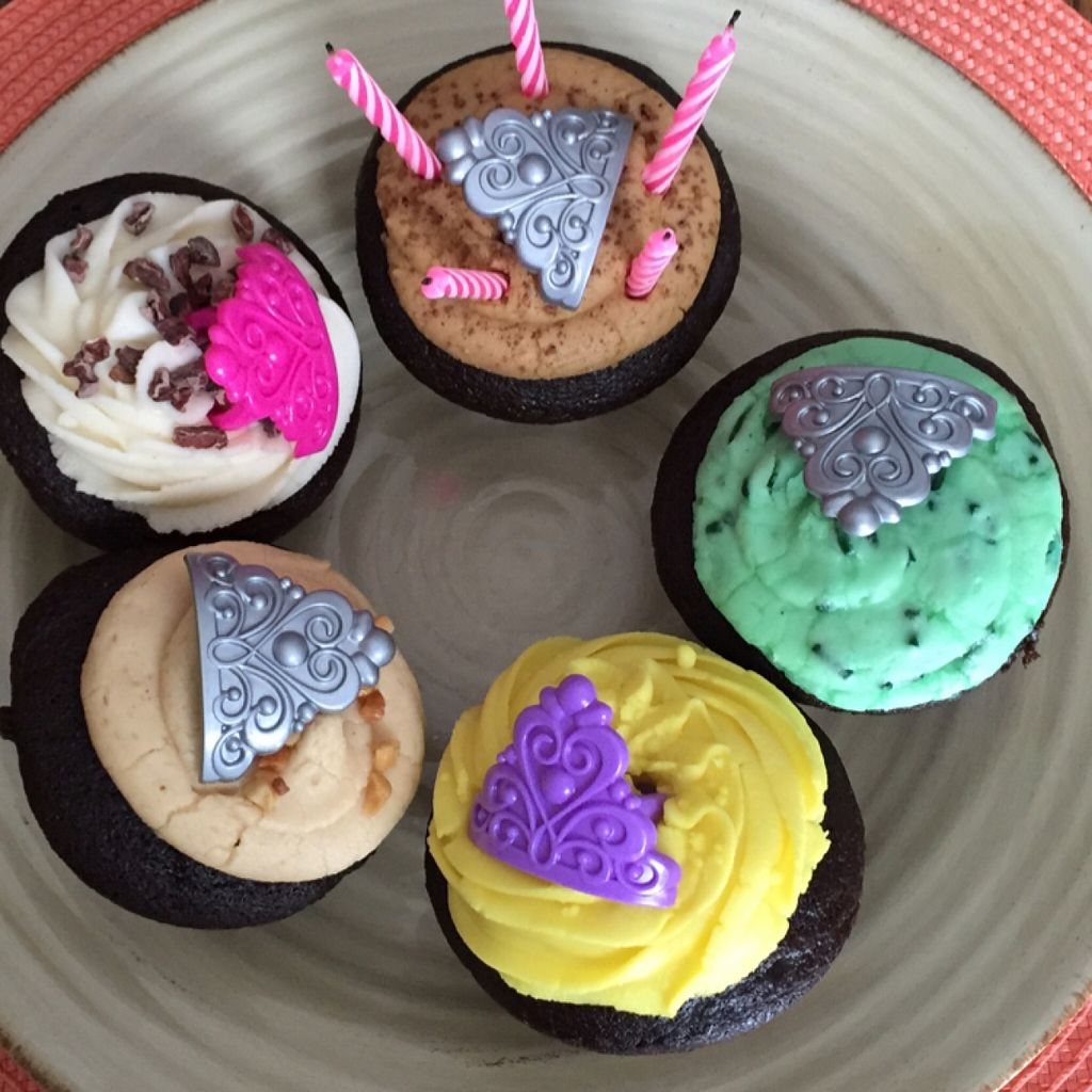 "Photo of Batch Cupcakery  by <a href=""/members/profile/gr8fulvegan"">gr8fulvegan</a> <br/>Vegan cupcake assortment (candles not included) <br/> January 3, 2016  - <a href='/contact/abuse/image/67462/130896'>Report</a>"