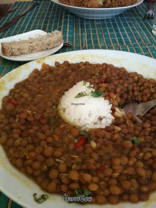 Photo of Govinda  by amba <br/>This is the simple but tasty, filling & very affordable Dahl. They make great bread too! <br/> May 26, 2013  - <a href='/contact/abuse/image/6747/48717'>Report</a>