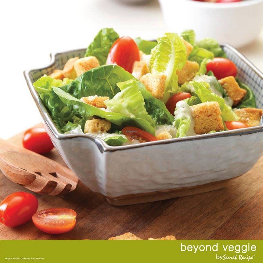 """Photo of Beyond Veggie by Secret Recipe  by <a href=""""/members/profile/community"""">community</a> <br/>Caesar Salad <br/> May 6, 2016  - <a href='/contact/abuse/image/67492/147695'>Report</a>"""