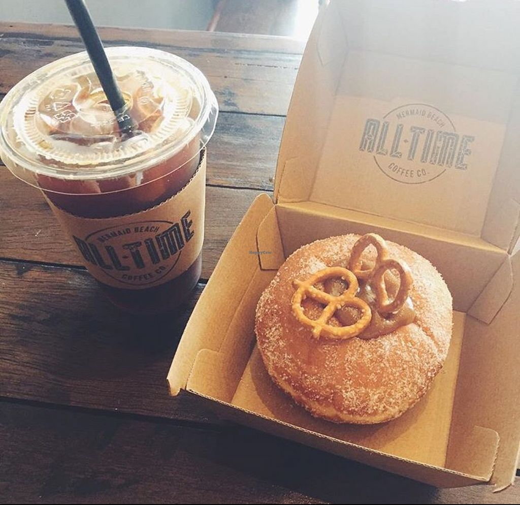 "Photo of All-Time Coffee Co.  by <a href=""/members/profile/AmeliaBethMarsal"">AmeliaBethMarsal</a> <br/>iced Americano and salted caramel donut  <br/> February 14, 2016  - <a href='/contact/abuse/image/67494/136349'>Report</a>"