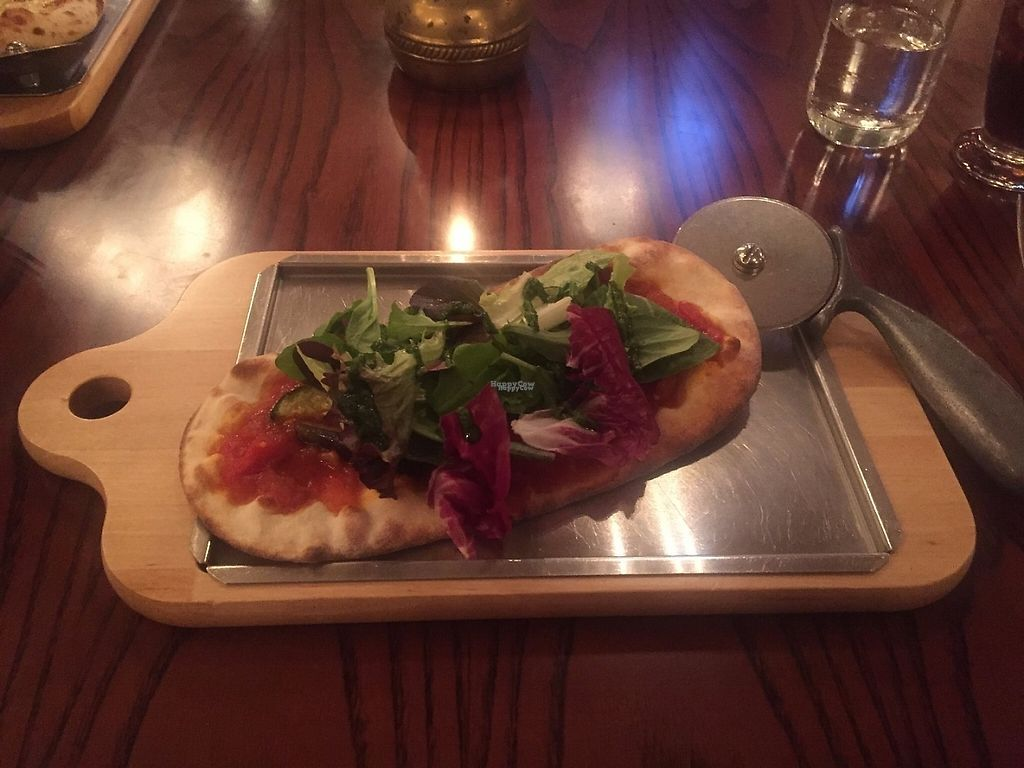 """Photo of Ristorante di Canaletto  by <a href=""""/members/profile/Emilyk_90"""">Emilyk_90</a> <br/>Vegan pizza <br/> April 23, 2017  - <a href='/contact/abuse/image/67496/251484'>Report</a>"""