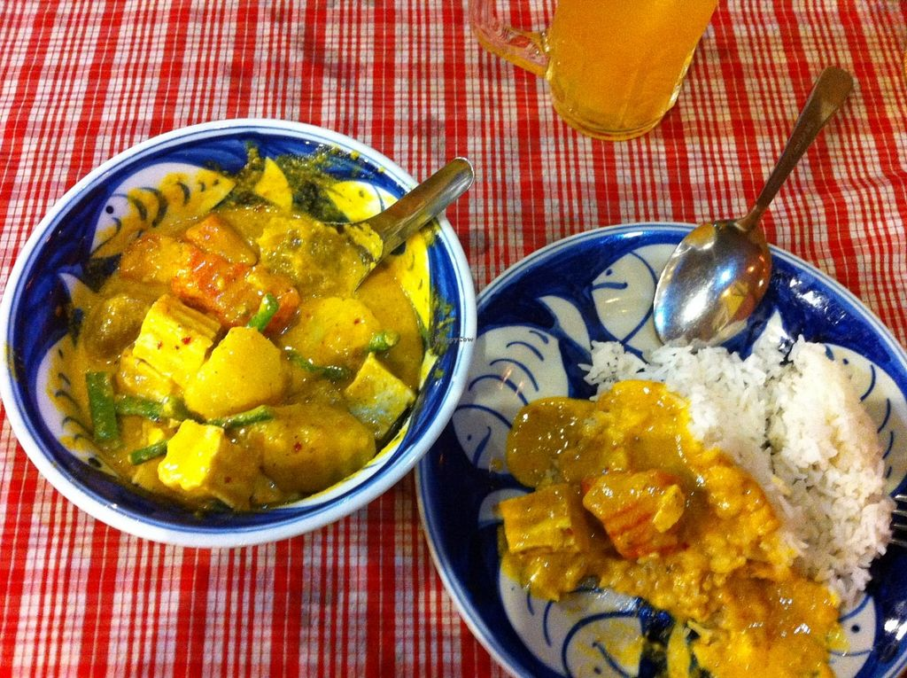 """Photo of Khmer Kitchen Restaurant   by <a href=""""/members/profile/alcozar"""">alcozar</a> <br/>Khemer Curry. Fantastic! <br/> June 1, 2016  - <a href='/contact/abuse/image/67504/151785'>Report</a>"""