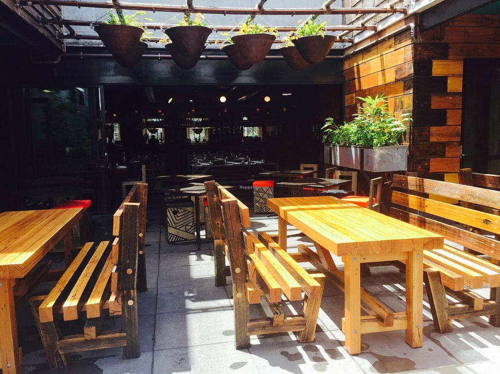 """Photo of Village People Hawker Foodhall  by <a href=""""/members/profile/karlaess"""">karlaess</a> <br/>Alfresco dining area <br/> December 25, 2015  - <a href='/contact/abuse/image/67522/129788'>Report</a>"""