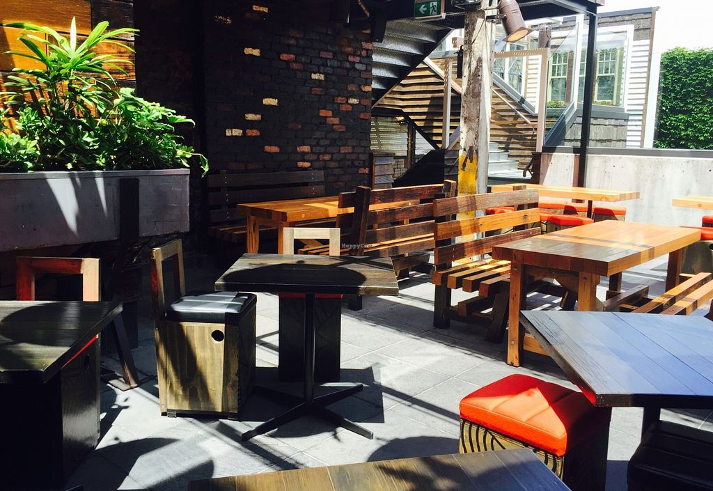 """Photo of Village People Hawker Foodhall  by <a href=""""/members/profile/karlaess"""">karlaess</a> <br/>Alfresco dining area <br/> December 25, 2015  - <a href='/contact/abuse/image/67522/129790'>Report</a>"""