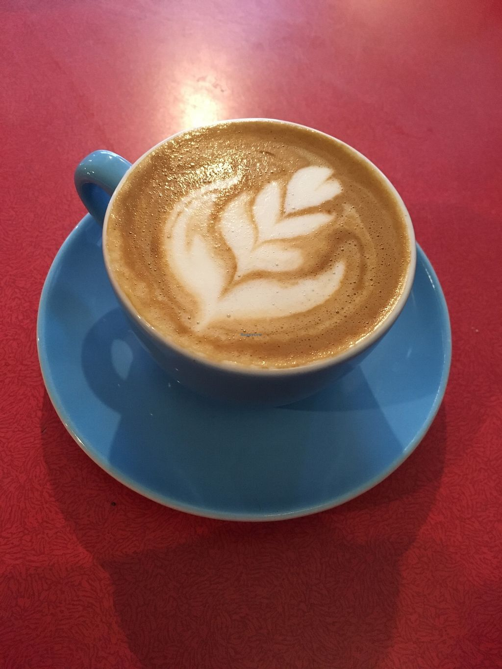 """Photo of The Bagelry   by <a href=""""/members/profile/avocado_jess"""">avocado_jess</a> <br/>Flat white with oat milk <br/> April 15, 2018  - <a href='/contact/abuse/image/67526/386181'>Report</a>"""