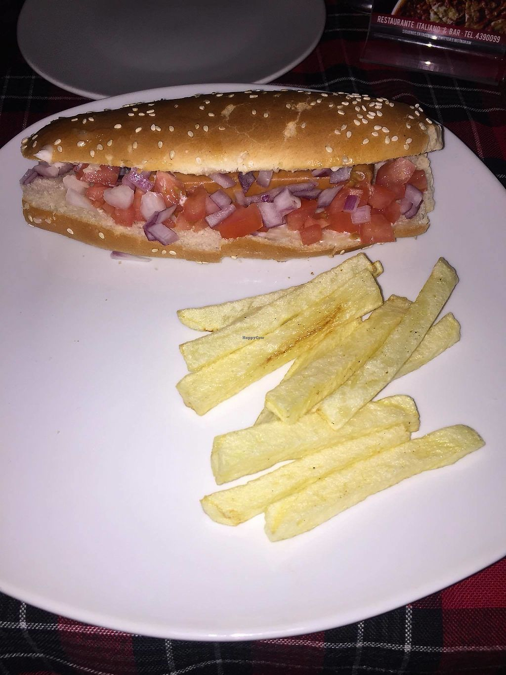 """Photo of Pizza Rock  by <a href=""""/members/profile/fabiolamm"""">fabiolamm</a> <br/>Vegan hotdog <br/> March 10, 2018  - <a href='/contact/abuse/image/67535/368981'>Report</a>"""