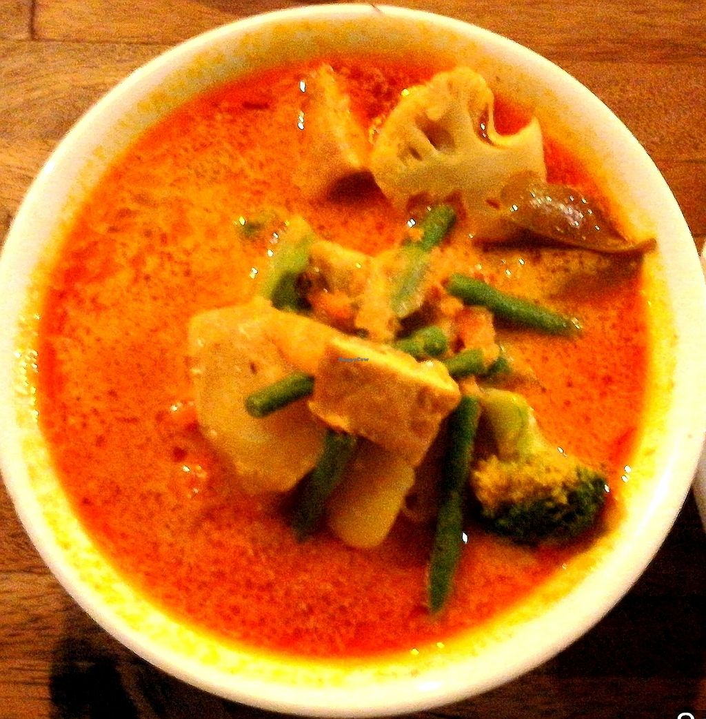 """Photo of My Little Cafe  by <a href=""""/members/profile/ThomNibbelin"""">ThomNibbelin</a> <br/>Vegetarian Red Curry with Tofu <br/> September 25, 2017  - <a href='/contact/abuse/image/67564/308449'>Report</a>"""