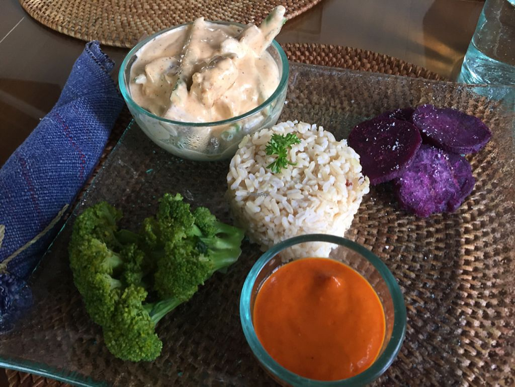 """Photo of Sage  by <a href=""""/members/profile/SusanRoberts"""">SusanRoberts</a> <br/>mushrooms and tempeh daily special <br/> December 31, 2016  - <a href='/contact/abuse/image/67565/206418'>Report</a>"""