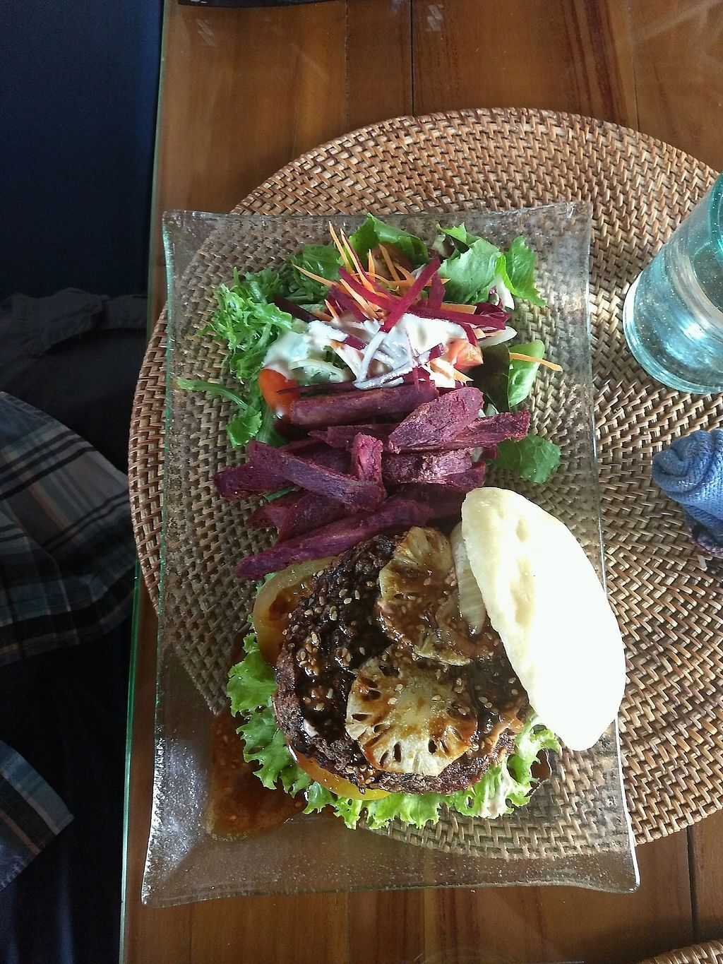 """Photo of Sage  by <a href=""""/members/profile/CatD"""">CatD</a> <br/>burger - delicious! <br/> February 14, 2018  - <a href='/contact/abuse/image/67565/359178'>Report</a>"""