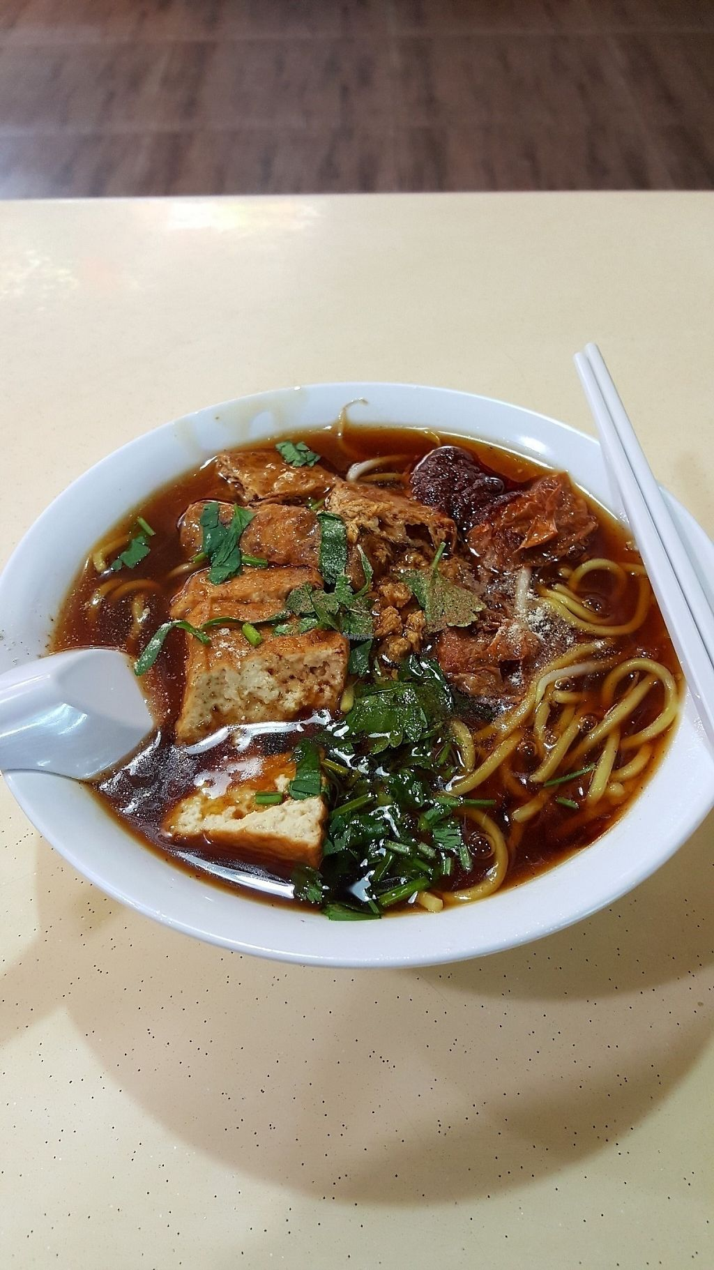 """Photo of Xin En Vegetarian  by <a href=""""/members/profile/binghuan83"""">binghuan83</a> <br/>Lor Mee <br/> November 8, 2016  - <a href='/contact/abuse/image/67567/187392'>Report</a>"""