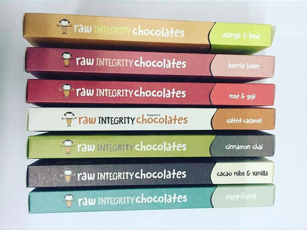 """Photo of Raw Integrity Chocolates  by <a href=""""/members/profile/karlaess"""">karlaess</a> <br/>chocolate range <br/> April 8, 2018  - <a href='/contact/abuse/image/67571/382343'>Report</a>"""