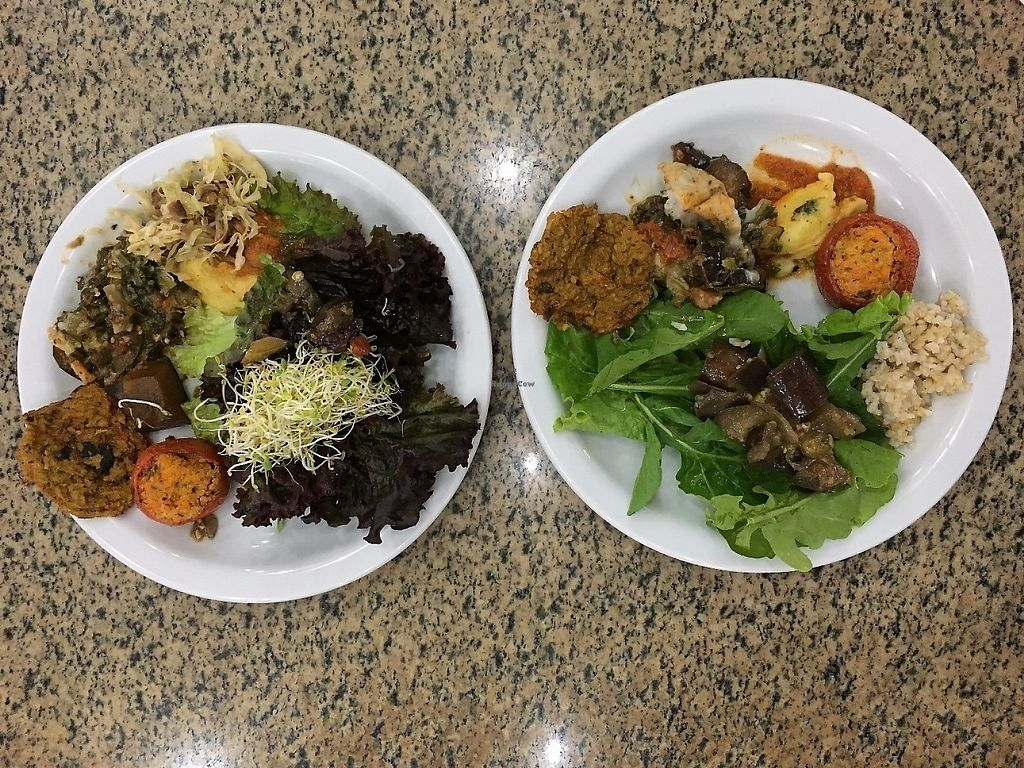 """Photo of Organicos & Organicos  by <a href=""""/members/profile/aborisen"""">aborisen</a> <br/>Vegan lunch buffet <br/> December 15, 2016  - <a href='/contact/abuse/image/67596/310852'>Report</a>"""
