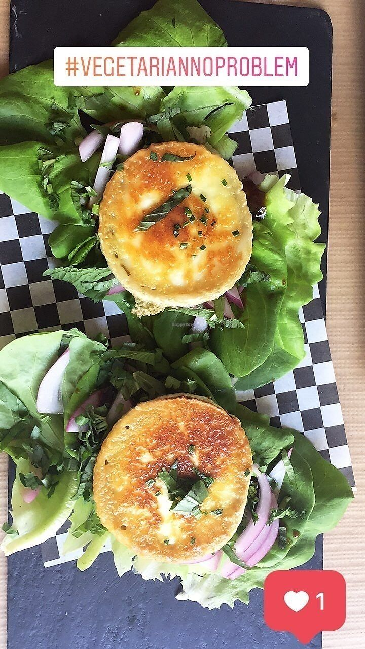 """Photo of La Boca  by <a href=""""/members/profile/Geet"""">Geet</a> <br/>Grilled/fried goat cheese with salad <br/> July 10, 2017  - <a href='/contact/abuse/image/67614/278693'>Report</a>"""