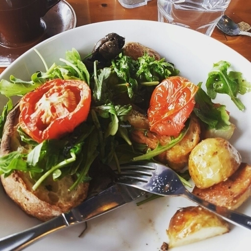"Photo of Ujazi Cafe  by <a href=""/members/profile/Catwentvegan"">Catwentvegan</a> <br/>Brushetta ( vegan option) <br/> January 3, 2017  - <a href='/contact/abuse/image/67629/207390'>Report</a>"