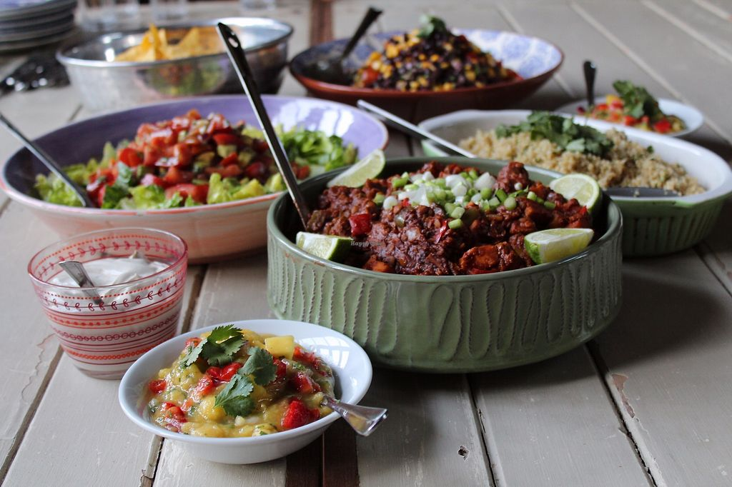 """Photo of The Nourish Co.  by <a href=""""/members/profile/TheNourishCo"""">TheNourishCo</a> <br/>Mexican Lentil & Sweet Potato Chilli with sides <br/> August 9, 2017  - <a href='/contact/abuse/image/67671/290856'>Report</a>"""