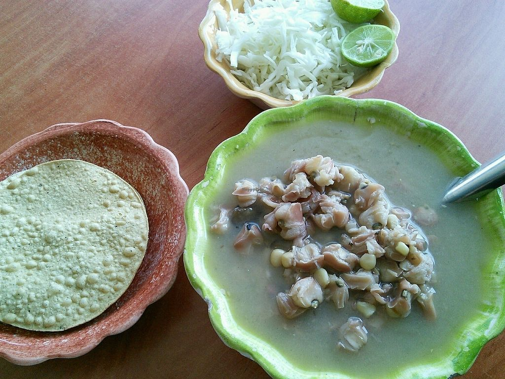 "Photo of Pozole Vegetariano Tia Ofe  by <a href=""/members/profile/Vcup"">Vcup</a> <br/>pozole grande <br/> February 7, 2018  - <a href='/contact/abuse/image/67681/355905'>Report</a>"
