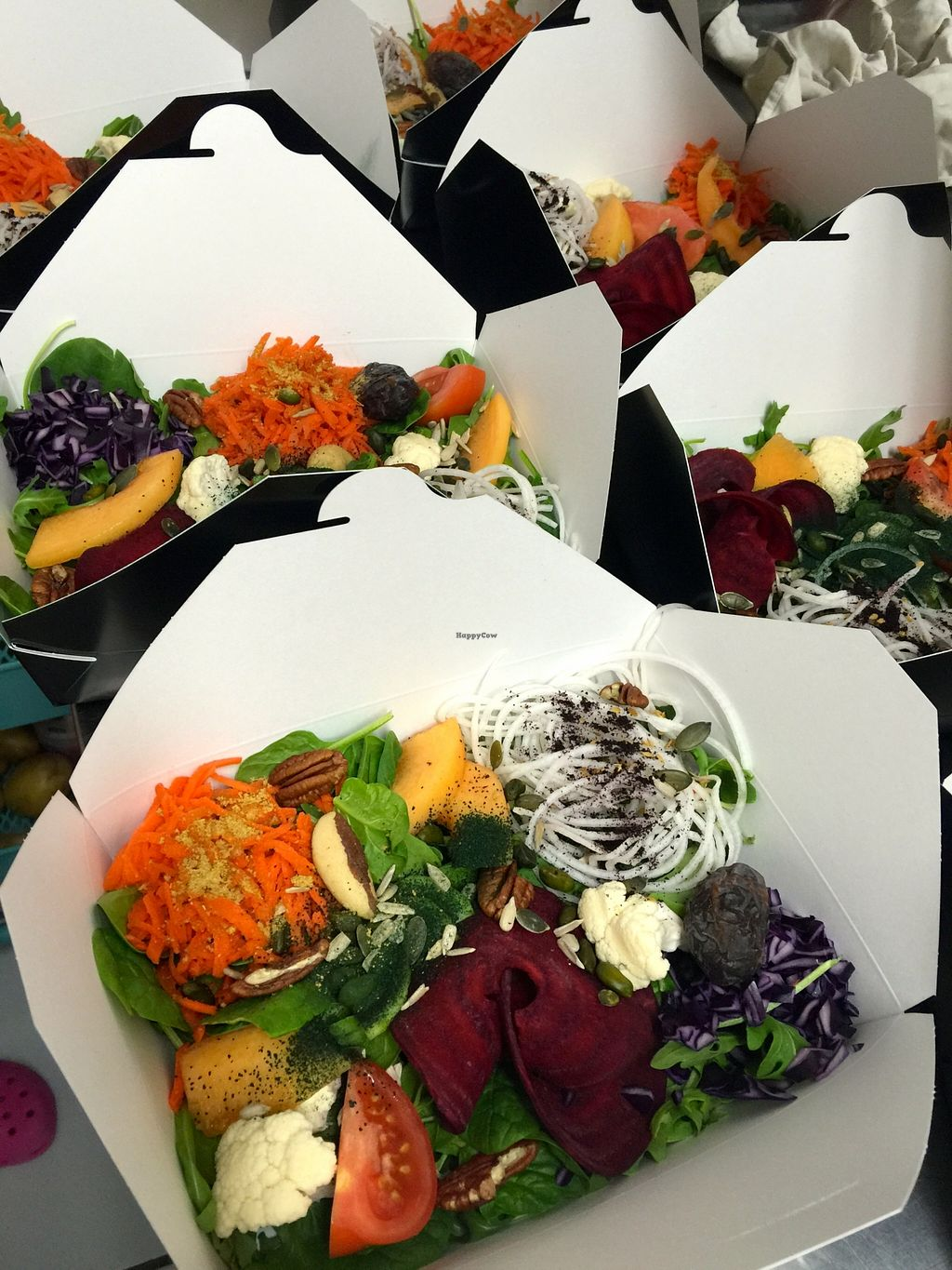 """Photo of Só Cuisine  by <a href=""""/members/profile/Anne%20VDH"""">Anne VDH</a> <br/>Raw salad to go from So Cuisine St Barth <br/> December 30, 2015  - <a href='/contact/abuse/image/67686/130414'>Report</a>"""