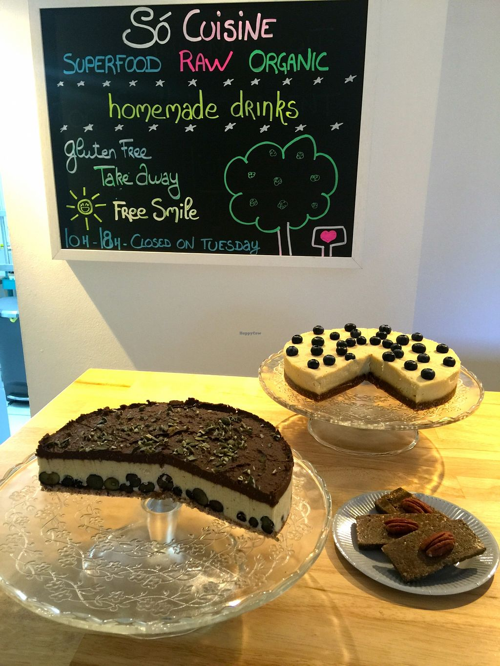"""Photo of Só Cuisine  by <a href=""""/members/profile/Anne%20VDH"""">Anne VDH</a> <br/>Fabulous raw desserts from So Cuisine <br/> December 30, 2015  - <a href='/contact/abuse/image/67686/130416'>Report</a>"""