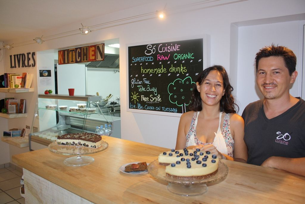 """Photo of Só Cuisine  by <a href=""""/members/profile/Anne%20VDH"""">Anne VDH</a> <br/>The lovely owners of So Cuisine in St Barth <br/> December 30, 2015  - <a href='/contact/abuse/image/67686/130418'>Report</a>"""