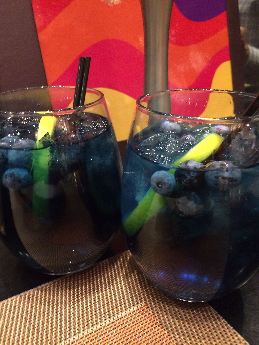 """Photo of Aria Hotel - Julian Serrano Tapas  by <a href=""""/members/profile/MitziFox"""">MitziFox</a> <br/>Blue Sangria <br/> March 5, 2018  - <a href='/contact/abuse/image/67715/366963'>Report</a>"""