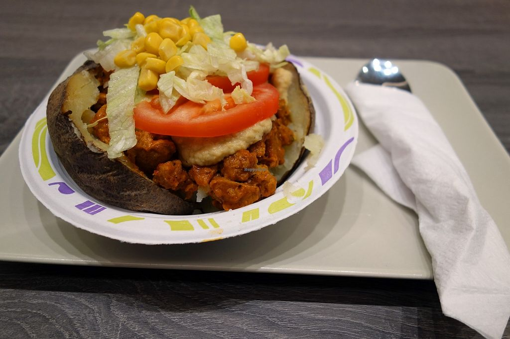 """Photo of CLOSED: The Lord  by <a href=""""/members/profile/DusselDaene"""">DusselDaene</a> <br/>Vegan baked potato with soy, chickpea sauce and salad (no. 7).  Very tasty :) <br/> December 31, 2015  - <a href='/contact/abuse/image/67718/130483'>Report</a>"""