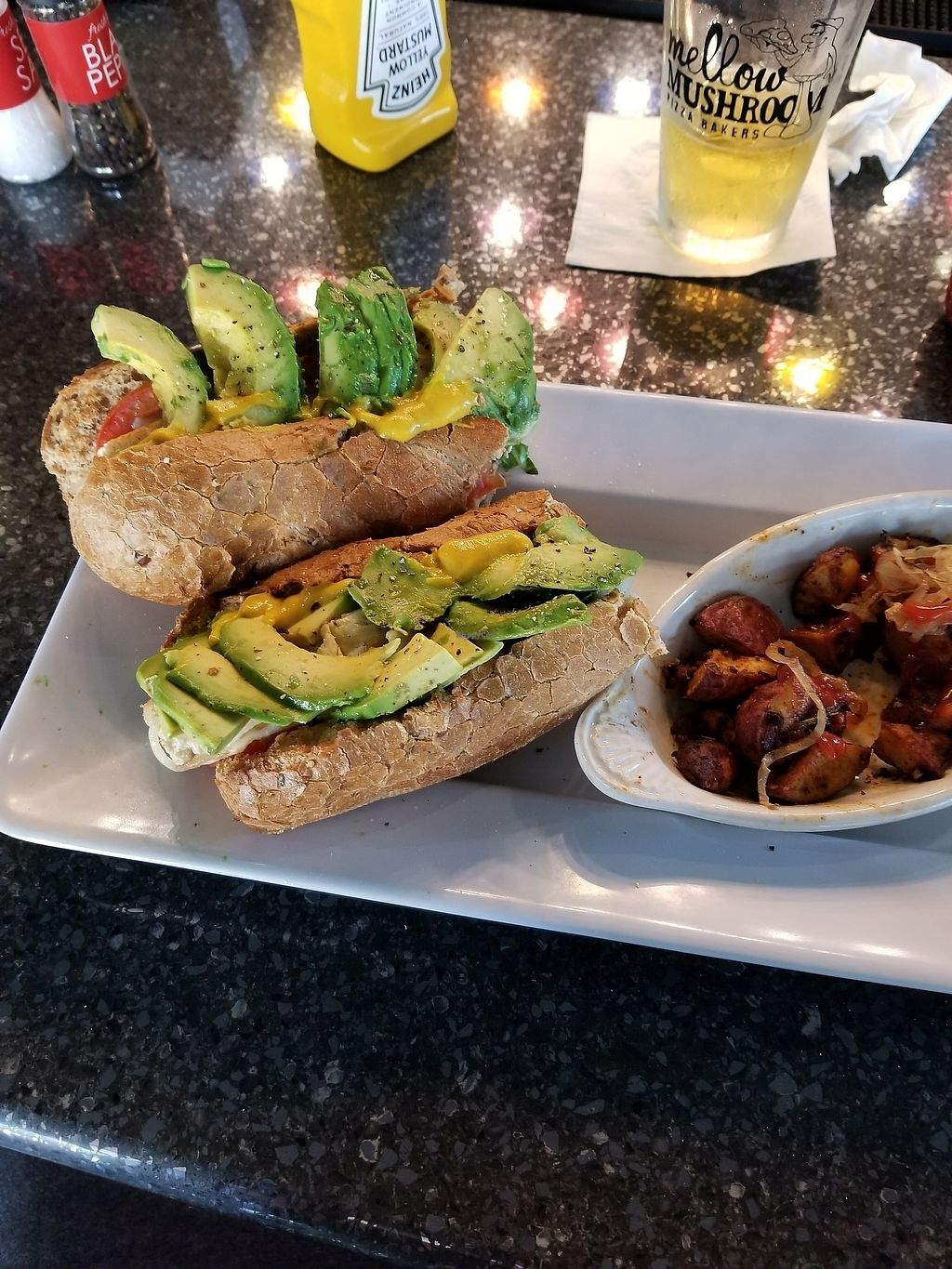 """Photo of Mellow Mushroom   by <a href=""""/members/profile/MarkBailey"""">MarkBailey</a> <br/>Advocodo Hoagie  <br/> August 18, 2017  - <a href='/contact/abuse/image/67729/294057'>Report</a>"""