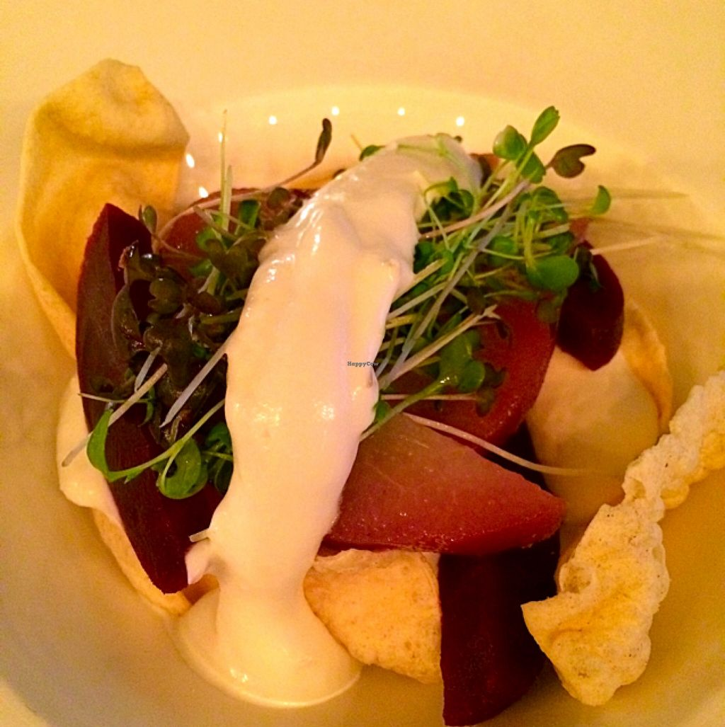 "Photo of Uluru  by <a href=""/members/profile/CiaraSlevin"">CiaraSlevin</a> <br/>Goats cheese mousse, poached pears, roasted beetroot and mini poppadoms Starter Salad <br/> January 1, 2016  - <a href='/contact/abuse/image/67770/130608'>Report</a>"