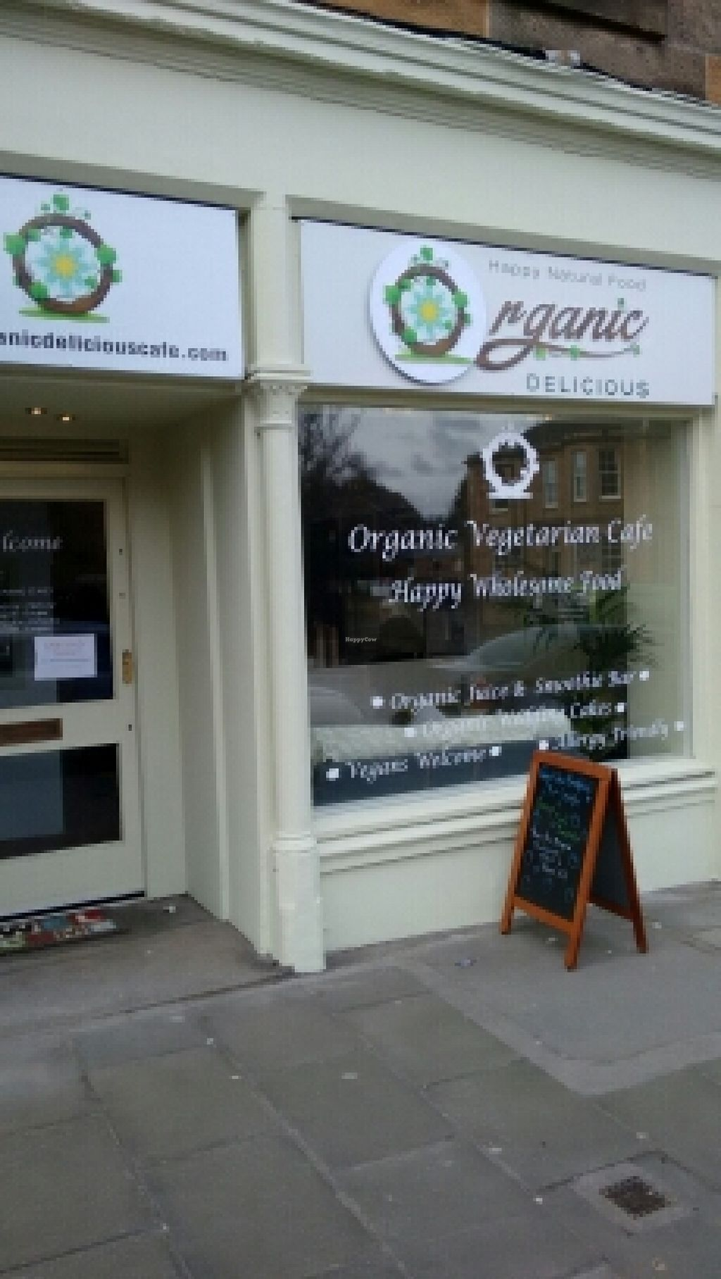 "Photo of CLOSED: Organic Delicious Cafe  by <a href=""/members/profile/craigmc"">craigmc</a> <br/>outside <br/> April 6, 2016  - <a href='/contact/abuse/image/67773/143032'>Report</a>"