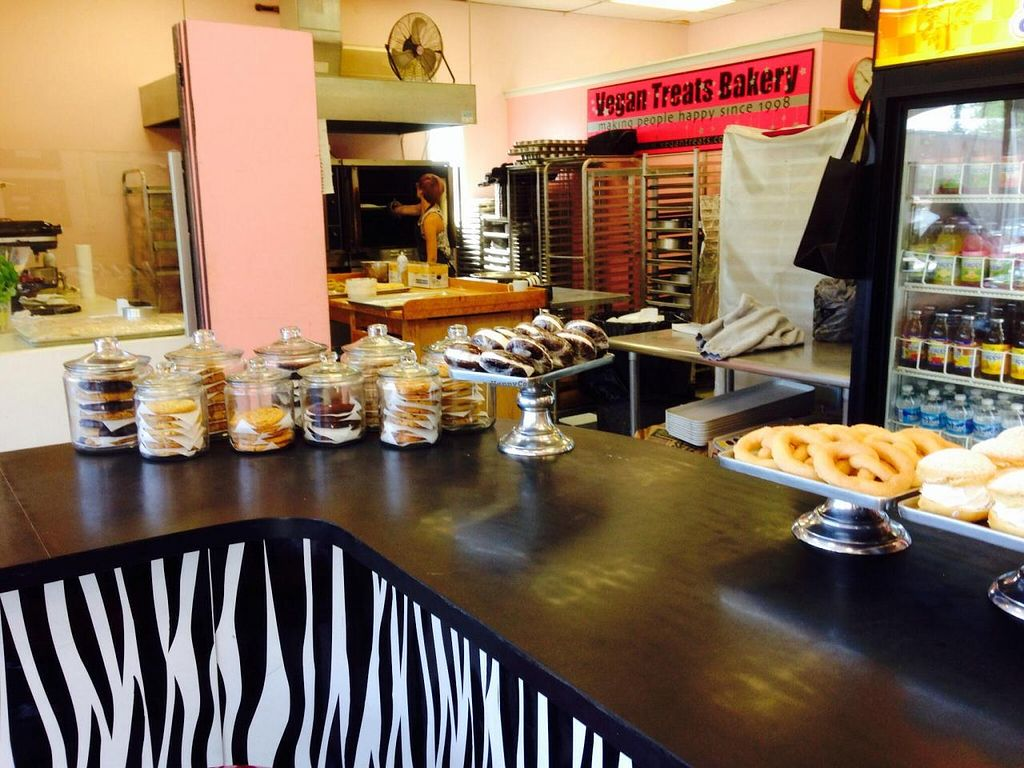 """Photo of Vegan Treats Bakery  by <a href=""""/members/profile/cookiem"""">cookiem</a> <br/>Cookie jars with gluten free in the front <br/> September 16, 2014  - <a href='/contact/abuse/image/6784/80145'>Report</a>"""