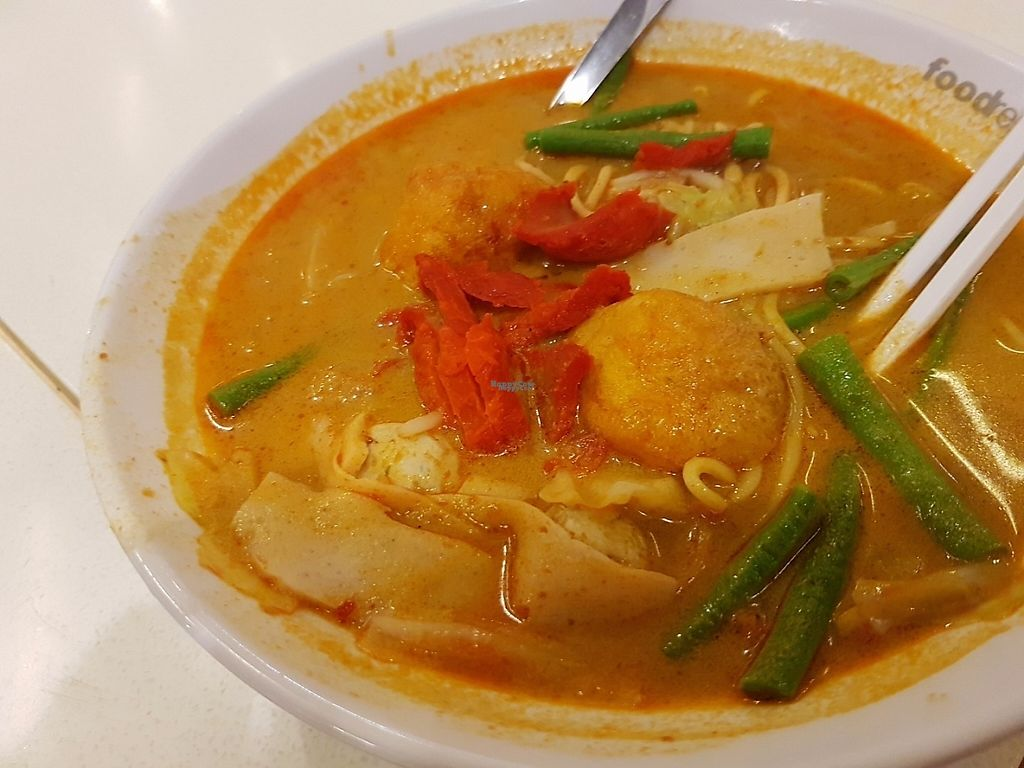"""Photo of Food Republic Vegetarian Food Stall  by <a href=""""/members/profile/duckalicious"""">duckalicious</a> <br/>curry soup <br/> February 20, 2017  - <a href='/contact/abuse/image/67850/228405'>Report</a>"""