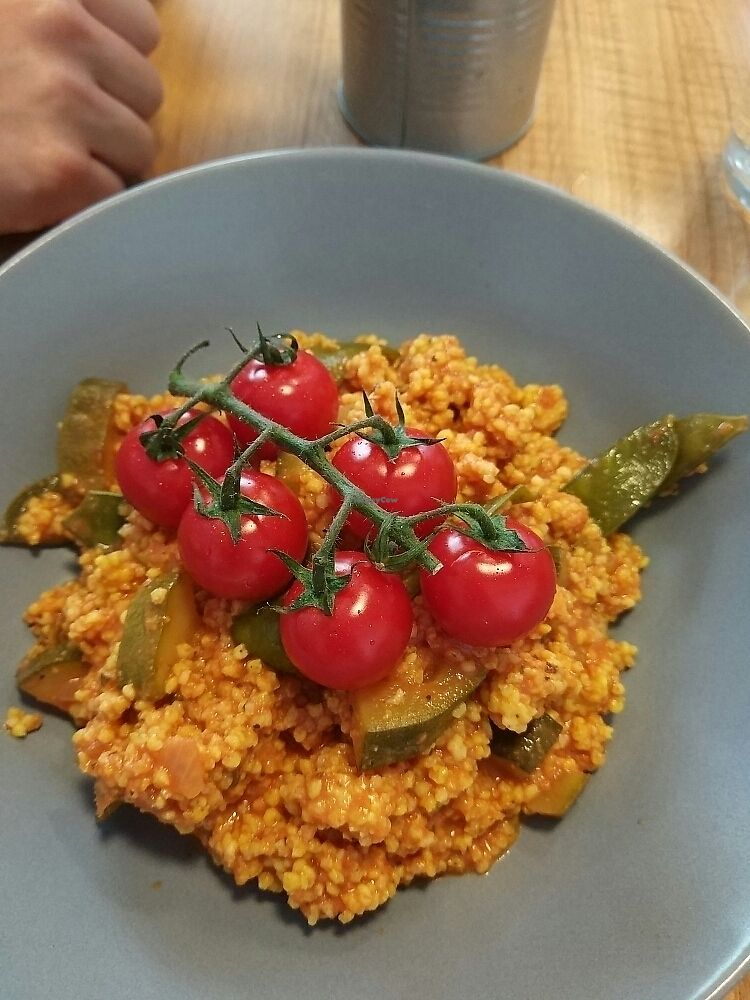 """Photo of Made with Laf  by <a href=""""/members/profile/HarrietCollinson"""">HarrietCollinson</a> <br/>the vegan cous cous before 2 pm was so tasty  <br/> June 12, 2017  - <a href='/contact/abuse/image/67858/268455'>Report</a>"""