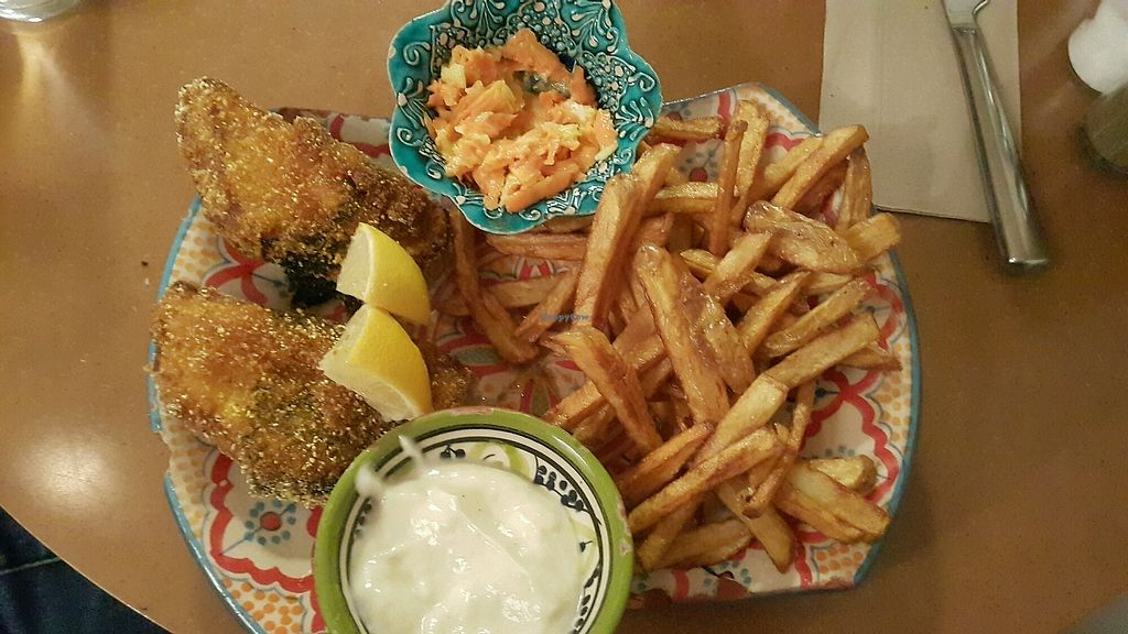 """Photo of Made with Laf  by <a href=""""/members/profile/RimaBarakat"""">RimaBarakat</a> <br/>Fish and chips  <br/> October 17, 2017  - <a href='/contact/abuse/image/67858/316103'>Report</a>"""