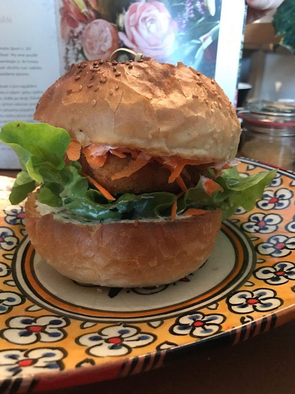 """Photo of Made with Laf  by <a href=""""/members/profile/AnaBanannaPancake"""">AnaBanannaPancake</a> <br/>Lentil burger  <br/> November 12, 2017  - <a href='/contact/abuse/image/67858/324635'>Report</a>"""