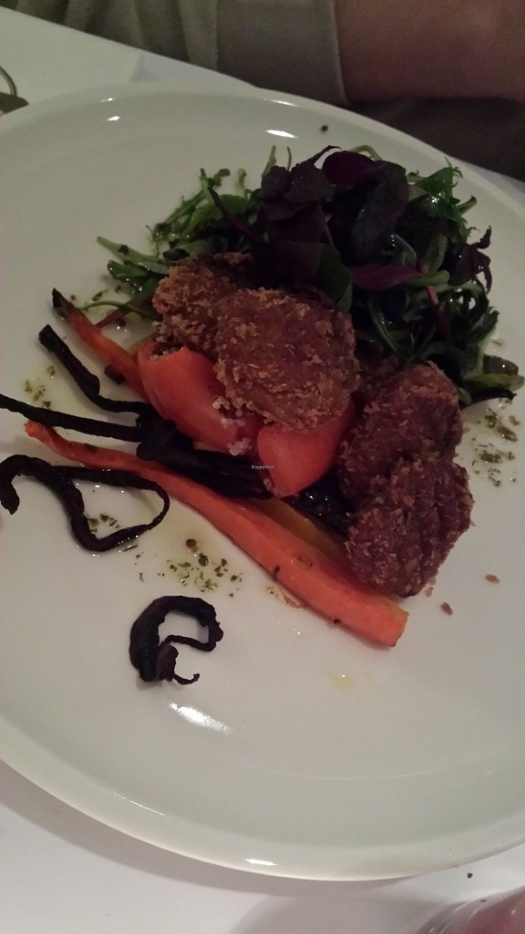"""Photo of CLOSED: Green House Kitchen  by <a href=""""/members/profile/kathyv181"""">kathyv181</a> <br/>falafel salad <br/> January 3, 2016  - <a href='/contact/abuse/image/67864/130933'>Report</a>"""