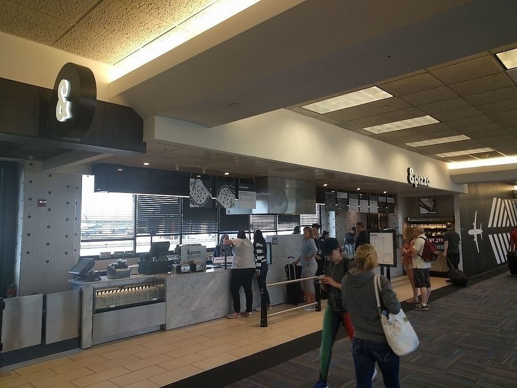 """Photo of &pizza - Airport  by <a href=""""/members/profile/mrd"""">mrd</a> <br/>&pizza counter <br/> June 22, 2017  - <a href='/contact/abuse/image/67872/272092'>Report</a>"""