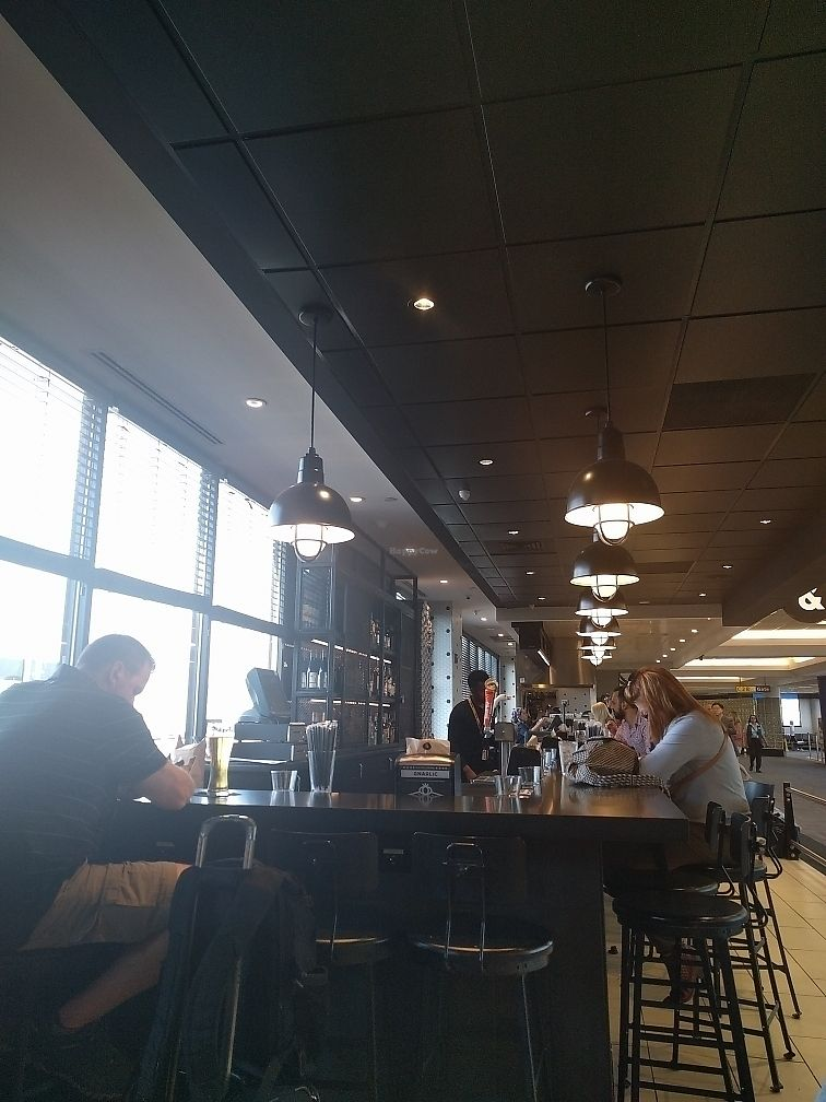 """Photo of &pizza - Airport  by <a href=""""/members/profile/mrd"""">mrd</a> <br/>Bar from seating area <br/> June 22, 2017  - <a href='/contact/abuse/image/67872/272095'>Report</a>"""