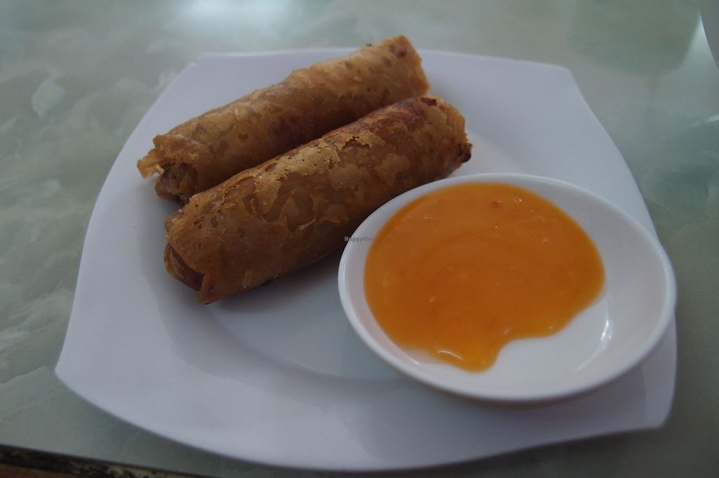 Photo of Bach Thao  by Vegreg <br/>Fried spring rolls (they are ok, but the fresh ones are much tastier) <br/> January 25, 2016  - <a href='/contact/abuse/image/67891/133632'>Report</a>