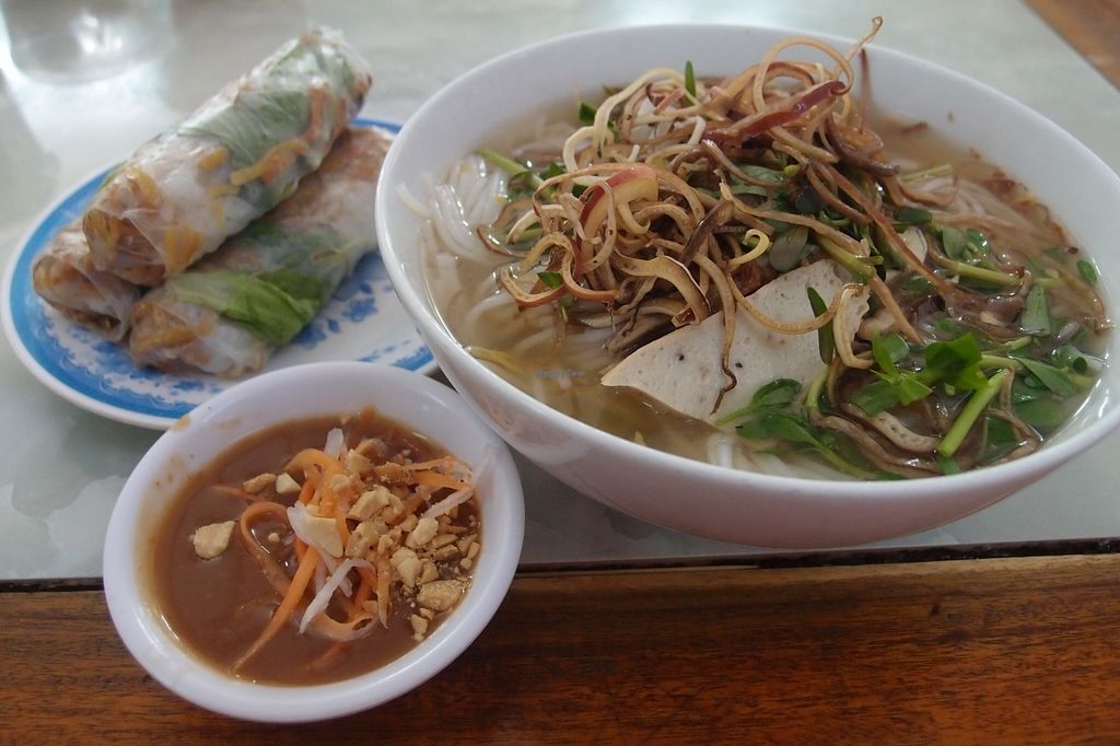 Photo of Bach Thao  by Vegreg <br/>Bun Mam, with fresh spring rolls <br/> January 25, 2016  - <a href='/contact/abuse/image/67891/133634'>Report</a>