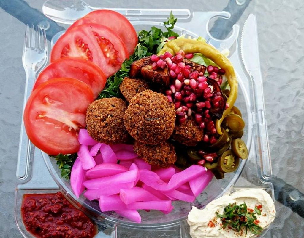 """Photo of Falafel Bejrut - Nowolipki  by <a href=""""/members/profile/community"""">community</a> <br/>falafel  <br/> January 21, 2016  - <a href='/contact/abuse/image/67895/133238'>Report</a>"""