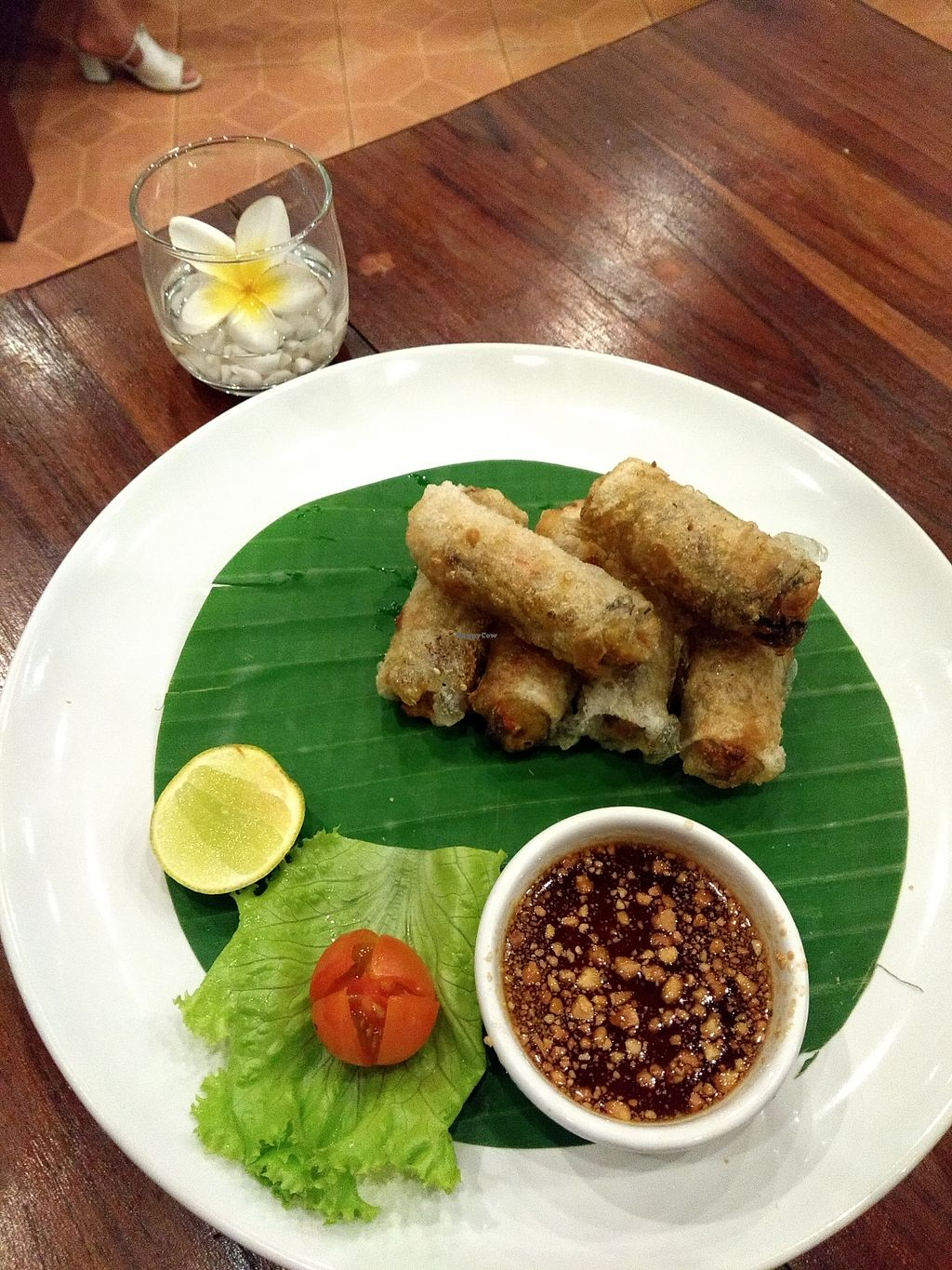 "Photo of Khaiphaen  by <a href=""/members/profile/Kkdempsey"">Kkdempsey</a> <br/>Crispy spring rolls were delicious <br/> November 30, 2017  - <a href='/contact/abuse/image/67897/330730'>Report</a>"