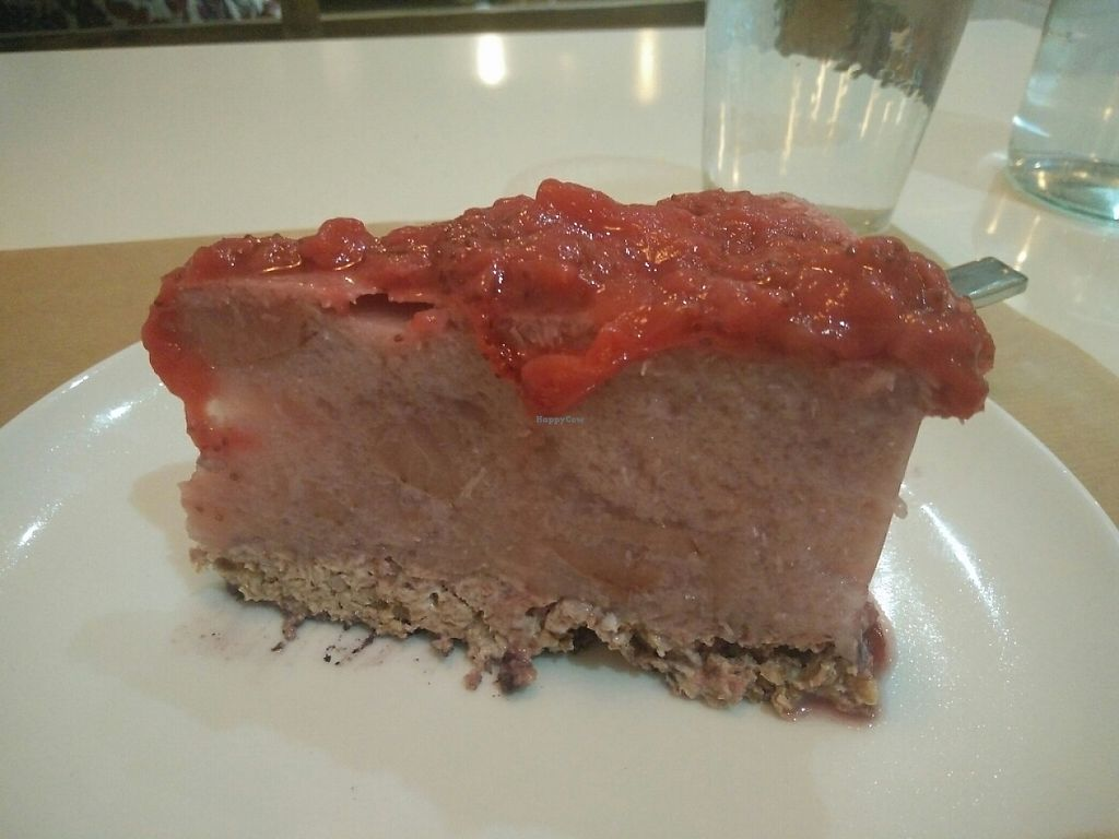 """Photo of Gustu Bilbao  by <a href=""""/members/profile/martinicontomate"""">martinicontomate</a> <br/>strawberry cheesecake <br/> June 3, 2017  - <a href='/contact/abuse/image/67915/265480'>Report</a>"""