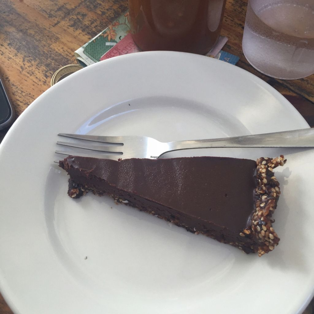 """Photo of Cafe Mono Congo  by <a href=""""/members/profile/millavinilla"""">millavinilla</a> <br/>Chocolate Papaya Pie <br/> February 14, 2016  - <a href='/contact/abuse/image/67920/136252'>Report</a>"""